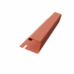 J- профиль Красный 3000х20 мм