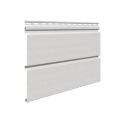 Сайдинг виниловый Vifront, Unicolor, Светло-Серый , плоская панель