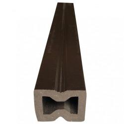 Лага из ДПК универсальная Шоколад 30х40х4000 мм