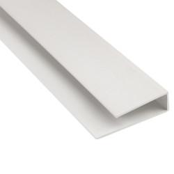Молдинг окантовочный Белый 3000х3 мм