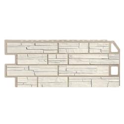 Фасадная панель FineBer Сланец Мелованный белый