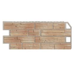 Фасадная панель FineBer Сланец Natur Бежевый 1130х470 мм