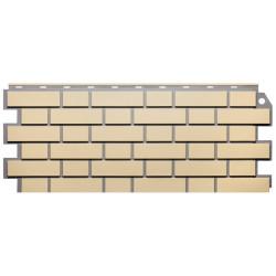 Фасадная панель FineBer Кирпич облицовочный Желтый 1130х463 мм