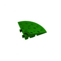 Угловой элемент обрамления Альта-Профиль Зеленый