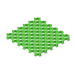 Усиленная газонная решетка с высоким профилем Альта-Профиль Зеленая