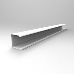 П-образный профиль алюминиевый Cesal в цвет рейки 3000 мм