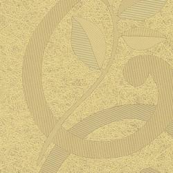 Панель Стеновая панель ПВХ Век Шелкография Золотая 2700х250 мм ламинированная