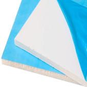 Сэндвич панель ПВХ для откосов Белая 3000х1500х9 мм