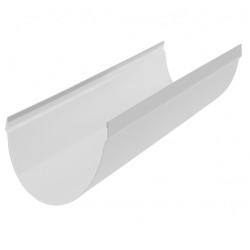 Желоб водосточный ПВХ Альта-Профиль Стандарт Белый 115х4000 мм