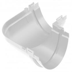 Угол желоба 90 градусов ПВХ Альта-Профиль Стандарт Белый 115 мм
