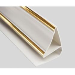Молдинг Потолочный Золото ПВХ 3000 мм
