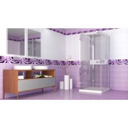 Капли росы фиолетовый (рисунок)