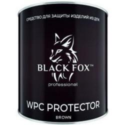 Масло Black Fox Protector для террасной доски ДПК (Темно Коричневый) 2.5 л.
