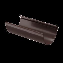 Желоб Водосточный DOCKE LUX цвет Коричневый 3м