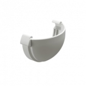Заглушка желоба DOCKE LUX цвет Белый