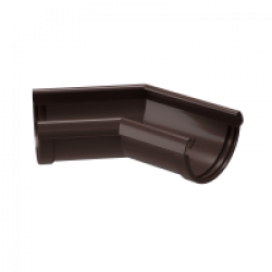Угловой элемент 135° DOCKE LUX цвет Коричневый