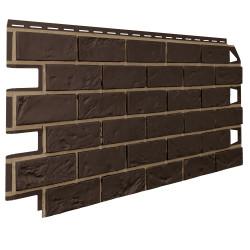 Vilo Brick DARK BROWN (Кирпич коричневый с швом)